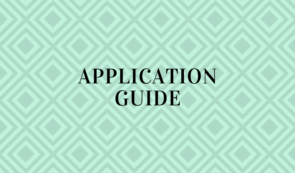 Application Guide(Open new window)